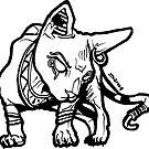 Blingin Sphynx Cat #RBPetMonsters by sketchNkustom