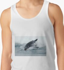 Diving Emperor Penguin Tank Top