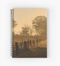 Misty Autumn Spiral Notebook