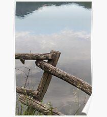 landscape lake Poster