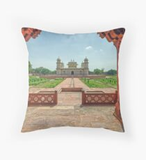 Baby Taj - Agra - Uttar Pradesh - India Throw Pillow