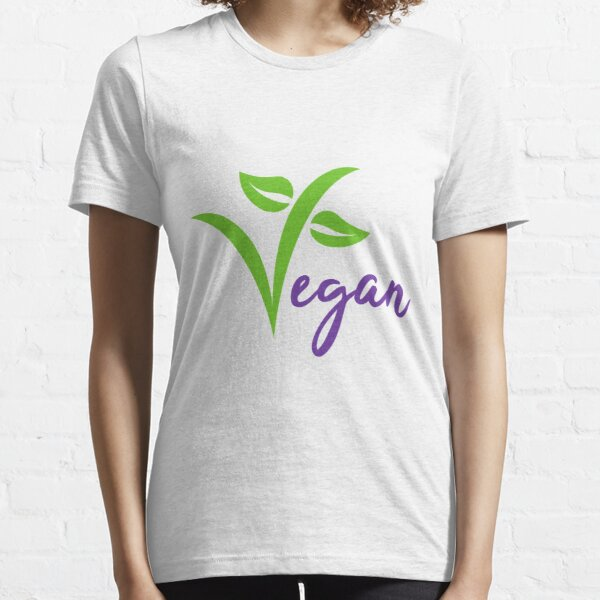 Go Vegan - Yes We Can Do It  Essential T-Shirt