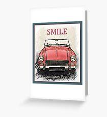 MG Smile Greeting Card