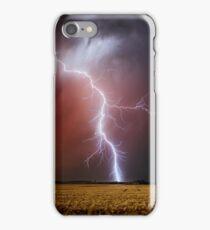 Late evening strike, Dowering, Western Australia iPhone Case/Skin