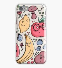 Fruits are friends iPhone Case/Skin