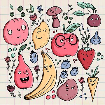 Fruits are friends by Tessa-Rath