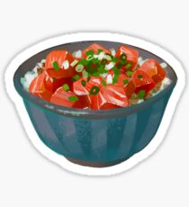 poke bowl Sticker