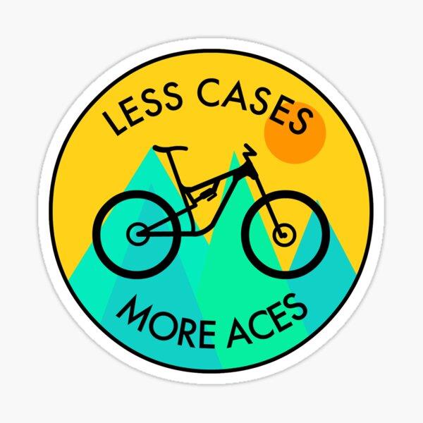 MTB: Less Cases, More Aces! Sticker