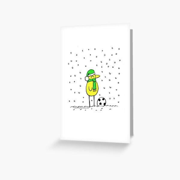 Canary Crimbo Greeting Card