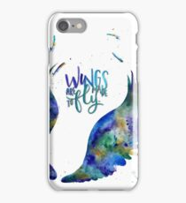 BTS - Wings Are Made To Fly iPhone Case/Skin