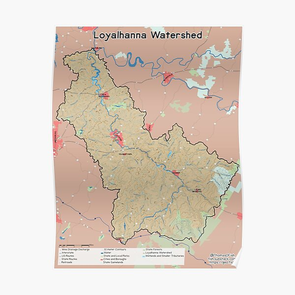 Loyalhanna Watershed Poster