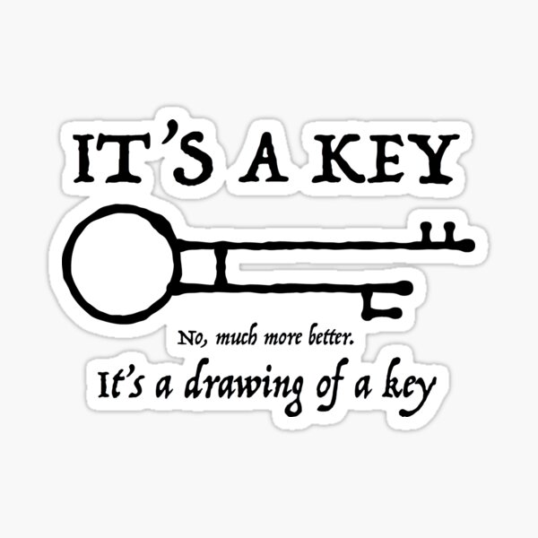Pirates of the Caribbean - Key Sticker