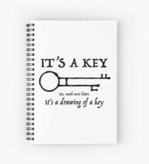 Cuaderno de espiral Piratas del Caribe: clave