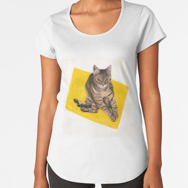 Cranky kitty Premium Scoop T-Shirt