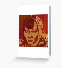 Anna May Wong Greeting Card