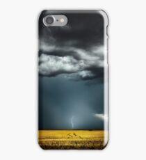 Window through the storm iPhone Case/Skin