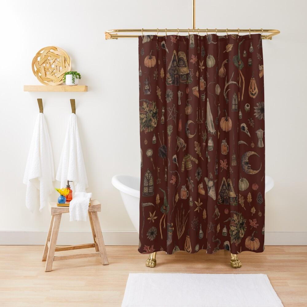Cozy Crone Shower Curtain