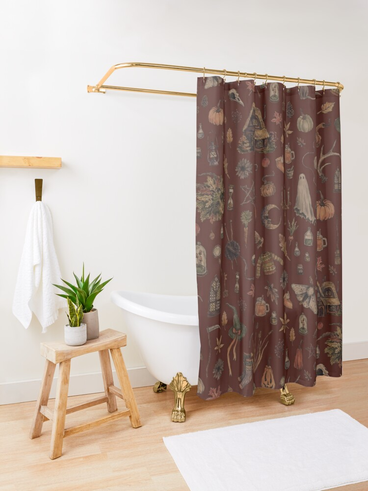 Alternate view of Cozy Crone Shower Curtain