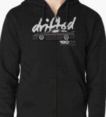 Drifted 180sx Tee - KH3 Edition by Drifted Zipped Hoodie