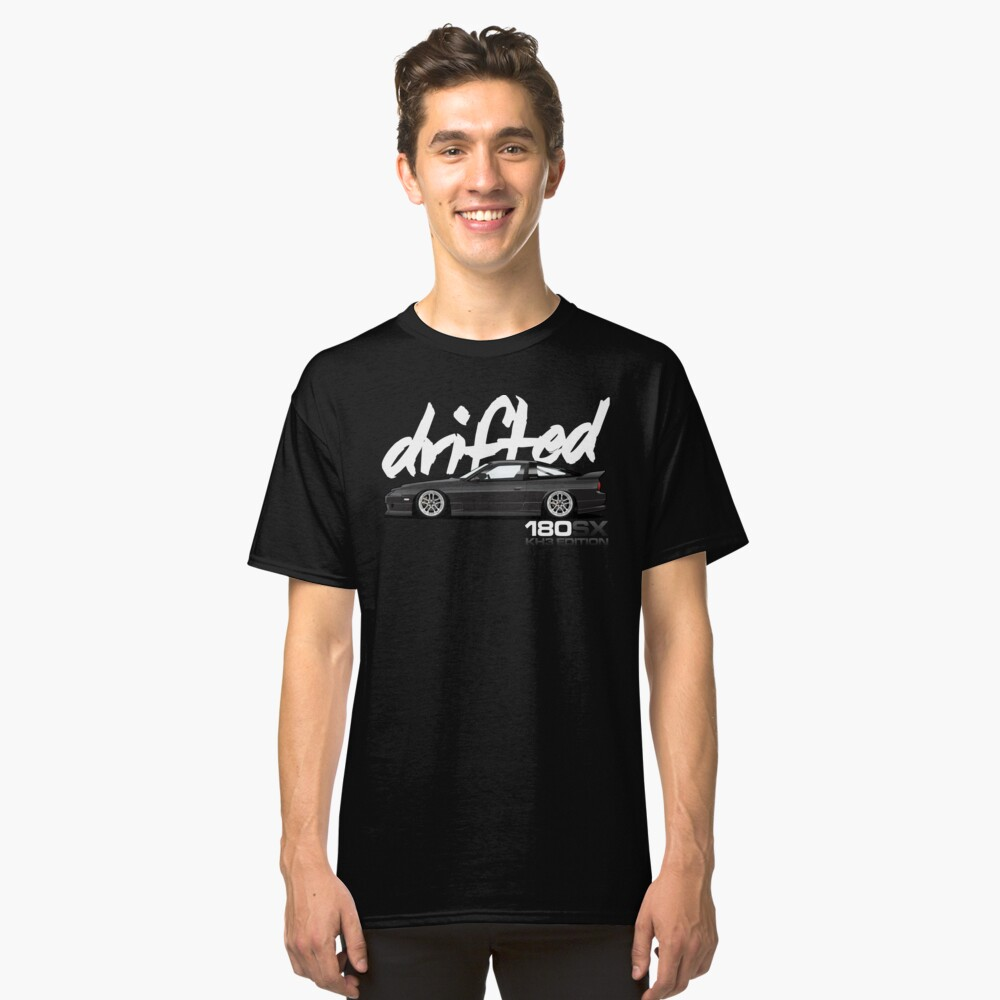 Drifted 180sx Tee - KH3 Edition by Drifted Classic T-Shirt Front