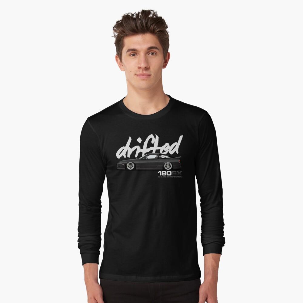 Drifted 180sx Tee - KH3 Edition by Drifted Long Sleeve T-Shirt