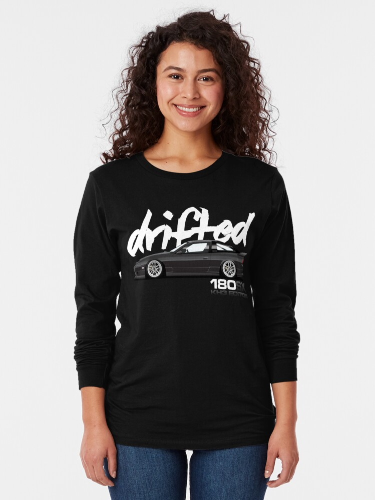 Alternate view of Drifted 180sx Tee - KH3 Edition by Drifted Long Sleeve T-Shirt
