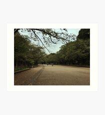 Ueno Park View Art Print
