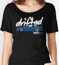 Drifted 180sx Tee - Bayside TV2 Edition by Drifted Women's Relaxed Fit T-Shirt