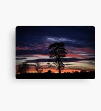 Silverdale Sunset (7), NSW, Australia Canvas Print