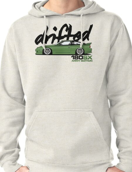 Drifted 180sx Tee - ARMY Edition by Drifted T-Shirt