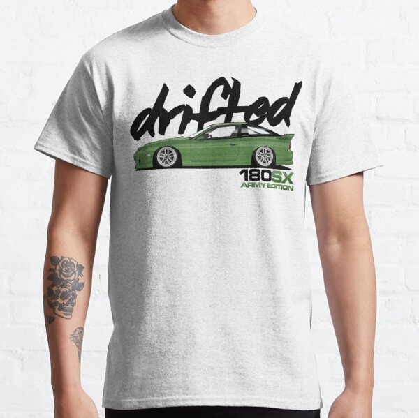 Drifted 180sx Tee - ARMY Edition by Drifted Classic T-Shirt