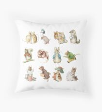 Beatrix potter Throw Pillow