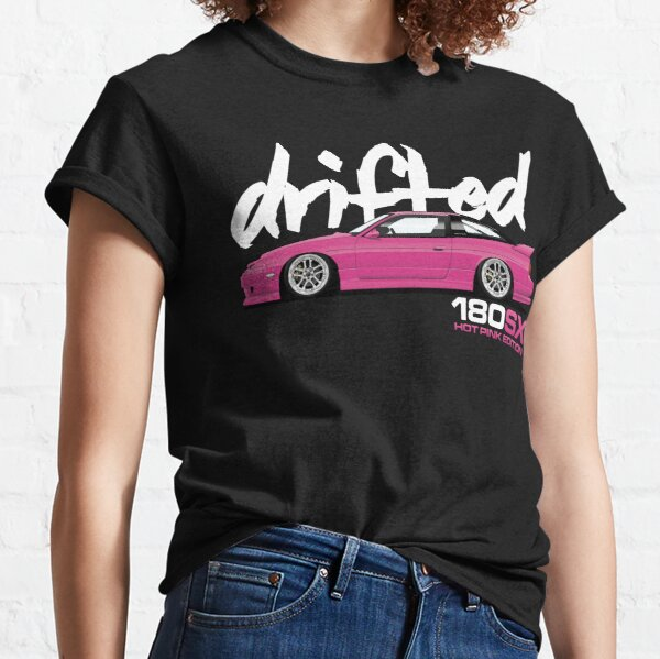 Drifted 180sx Tee - Hot Pink Edition by Drifted Classic T-Shirt