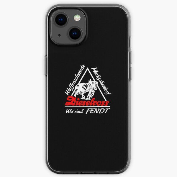 "LOGO - ""FENDT"" Coque souple iPhone"