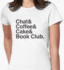 Chat & Coffee & Cake and Book Club T-Shirt