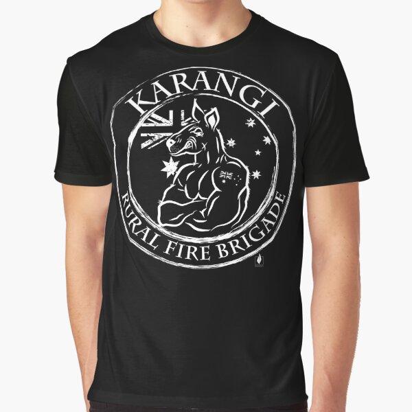 Karangi Rural Fire Brigade Graphic T-Shirt
