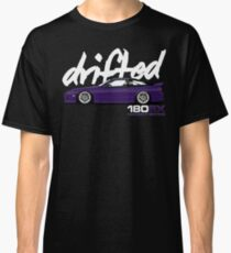 180sx Drift Tshirt - Midnight Edition by Drifted Classic T-Shirt
