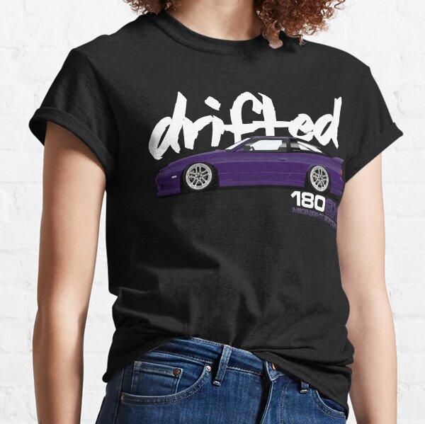 180sx Drift Tshirt - Midnight Edition by Drifted Classic T-Shirt