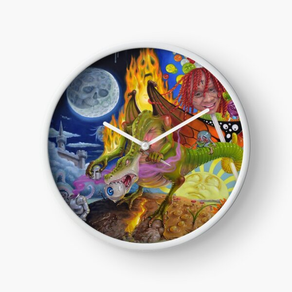 Mbulan Jelly Drink Clock