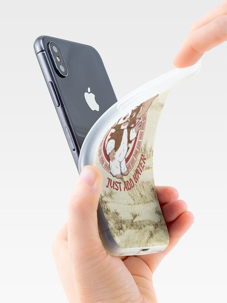 Vista alternativa de Funda y vinilo para iPhone Gizmo