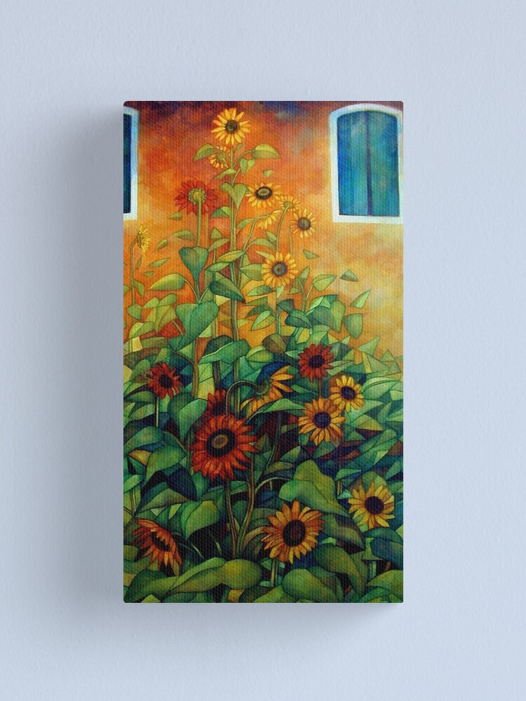 Alternate view of view from the garden Canvas Print