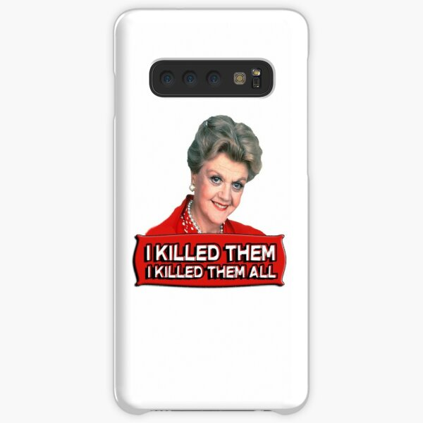 Angela Lansbury (Jessica Fletcher) Murder she wrote confession. I killed them all. Samsung Galaxy Snap Case