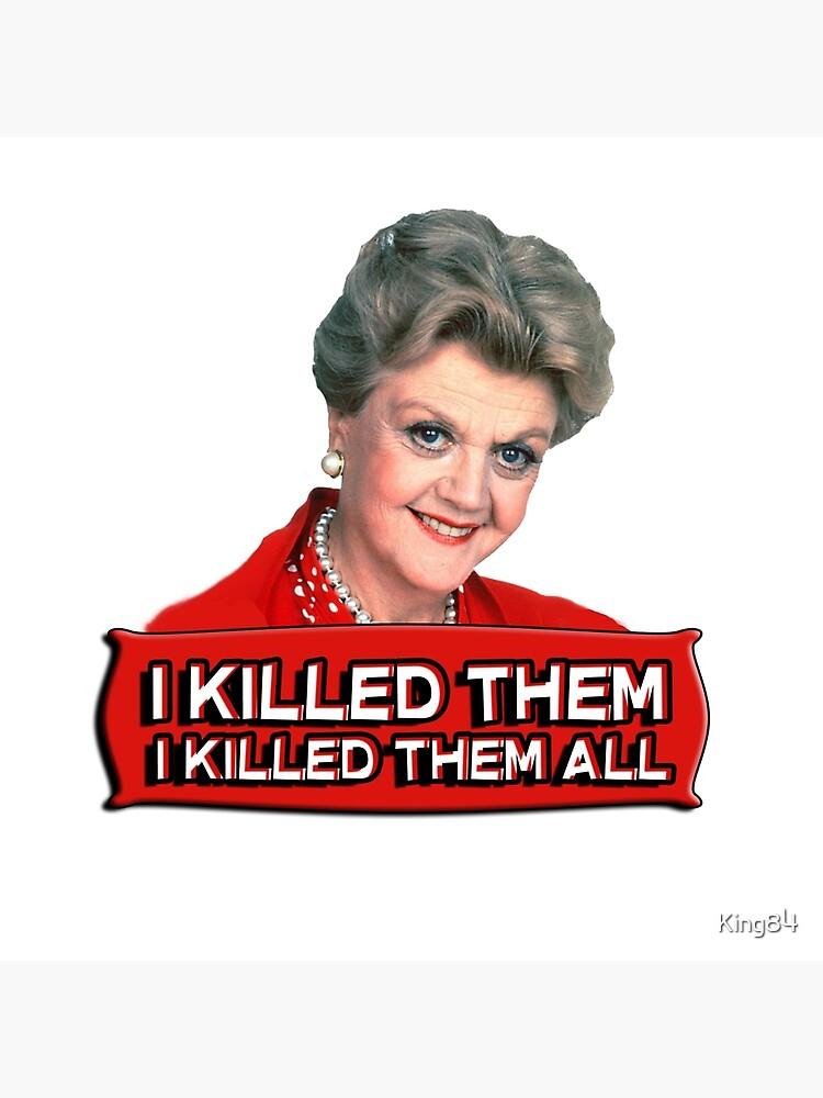 Angela Lansbury (Jessica Fletcher) Asesinato, ella escribió la confesión. Los maté a todos. de King84