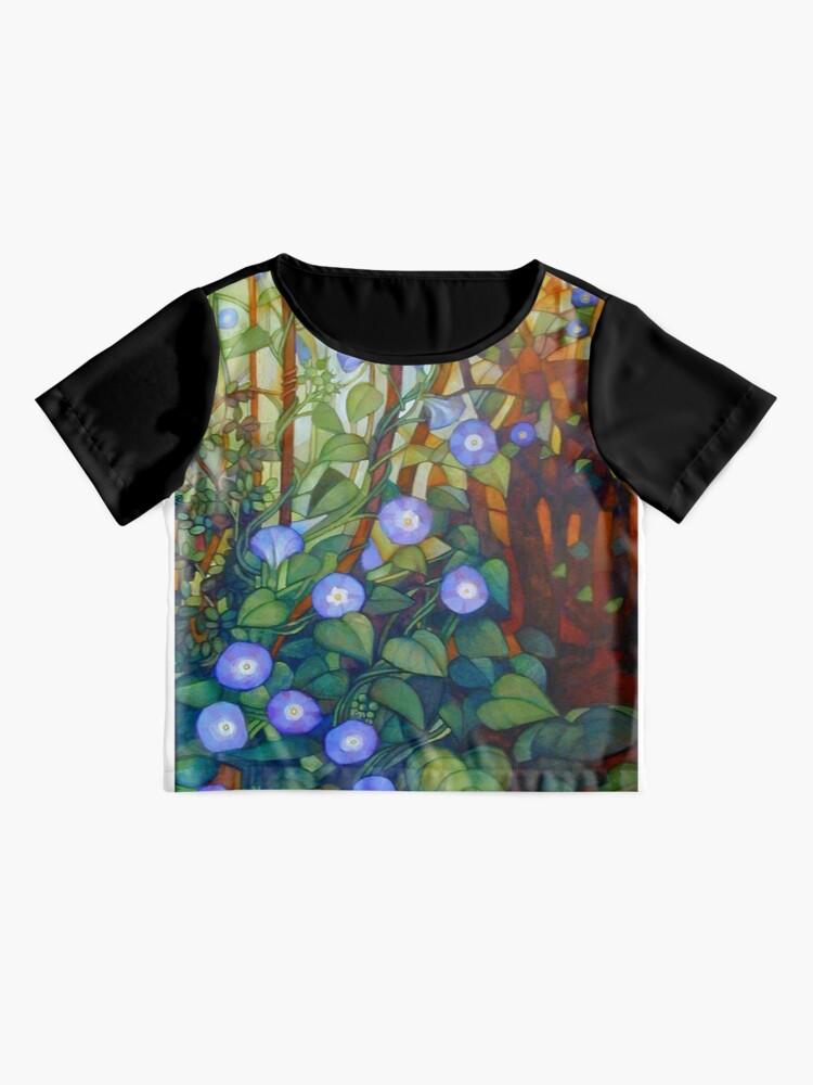 "Alternate view of Ipomoea ""caerulea blue"" Chiffon Top"