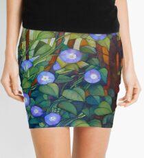 "Ipomoea ""caerulea blue"" Mini Skirt"