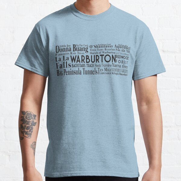 Warburton Yarra Valley Attractions Classic T-Shirt