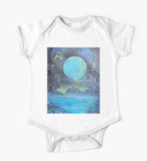 Spray Paint Art- Two Moons Kids Clothes