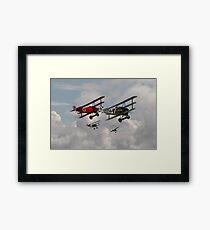 Fokker Squadron - 'Contact' Framed Print