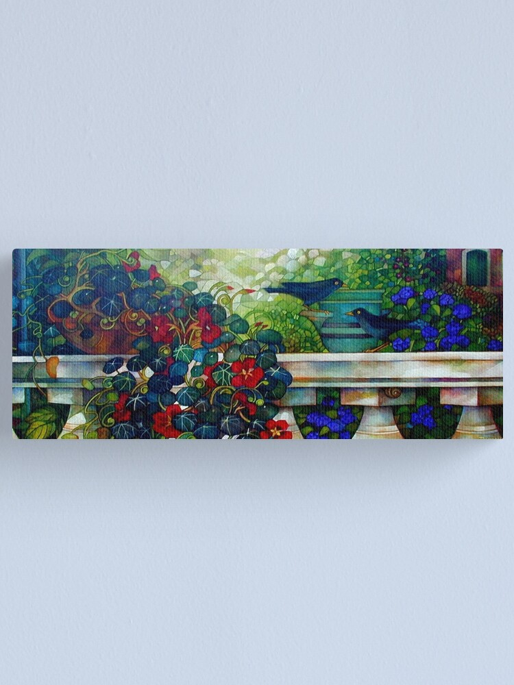 Alternate view of the terrace Canvas Print