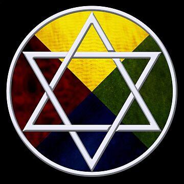 Elemental Star of David by wwwdotinternets